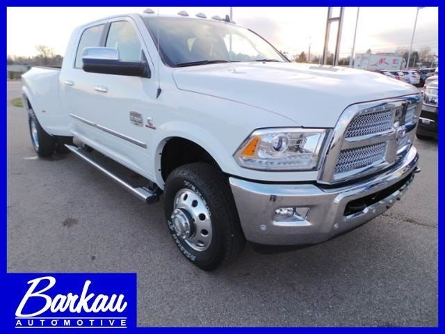 2017 ram 3500 laramie longhorn mega cab 4x4 6 39 4 box stockton il rockford madison davenport. Black Bedroom Furniture Sets. Home Design Ideas